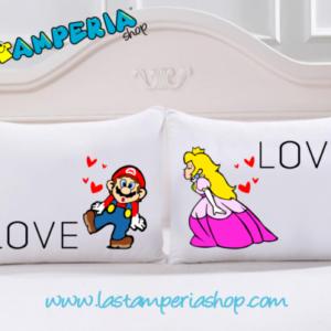 Federa Love Super Mario Principessa Peach